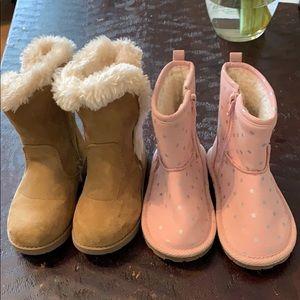 Gap & Cat & Jack Toddler Boots
